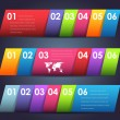 Royalty-Free Stock Vector Image: Vector Background Number Options Banner