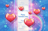 Valentine Day background vector — Vetorial Stock