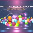 Baloon Card Vector Design - Stockvectorbeeld