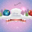 Merry Christmas Background — Grafika wektorowa