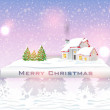 Royalty-Free Stock Vektorfiler: Christmas vector illustration