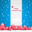Royalty-Free Stock Vector Image: Vector Illustration of Valentine&#039;s Day Card Design