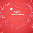 Vector Illustration of Valentine Card Design - Image vectorielle