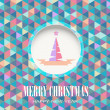Merry Christmas Vector Background — Stock Vector #14046205
