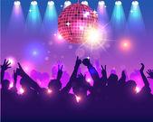 パーティーの背景のベクトルのデザイン — ストックベクタ