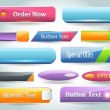 Vector Web Buttons — Vettoriale Stock #14660673