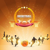 Basketball Vector Design — Stock Vector