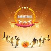 Basketball Vector Design — Stock Vector