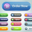 Vector Web Buttons — Vetorial Stock #14700003