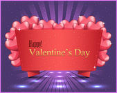 Valentine Day background vector — Stock Vector