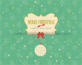 Merry Christmas Vector Design — Vettoriale Stock
