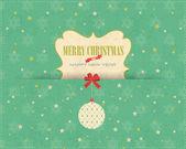 Merry christmas vektör tasarımı — Stok Vektör