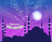 Ramadan Kareem Vector Design — Cтоковый вектор