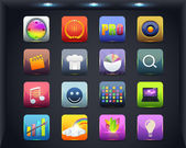 Apps Icon Vector Design — Stock Vector