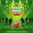 Stock Vector: American Football Vector Design
