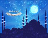 Diseño del vector ramadan kareem — Vector de stock