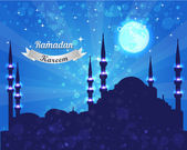 Ramadan Kareem Vector Design — Vetorial Stock