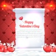 Valentine Day background vector — Imagens vectoriais em stock