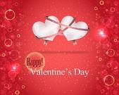 Vettore sfondo giorno di San Valentino — Vettoriale Stock