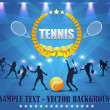 Tennis Shiny Background — Vettoriali Stock