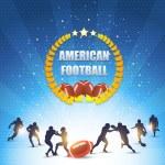 American Football Vector Design — Stock Vector #16319565