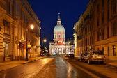 San petersburgo, la iglesia san panteleimon — Foto de Stock