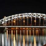 St. Petersburg Emperor Peter the Great Bridge — Stock Photo #12059848