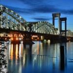 St. Petersburg The Finnish Bridge — Stock Photo