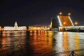 St. Petersburg, Palace Bridge — Stock Photo