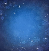 Snowflakes on a blue background.2 — Stock Photo