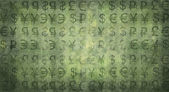 MONEY. monetary symbols. currency.background — Stock Photo