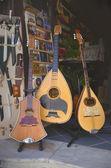 Griego lira.musical instrument.buzuk — Foto de Stock