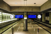 Underground terminal — Stock Photo