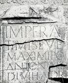 Inscripción romana — Foto de Stock