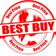 Royalty-Free Stock Vector Image: Best buy stamp