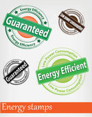 Energy stamp — Vector de stock