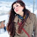 Woman portrait winter — Stock Photo #40561835