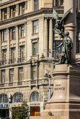 Ukrainne, львов, скульптура — Стоковое фото