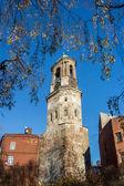 Russia, Vyborg, Clock tower — Stock Photo