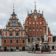 Stock Photo: Riga, Latvia, House of blackheads