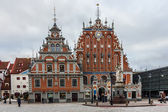Riga, Latvia, House of blackheads — Stock Photo