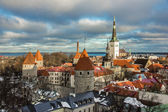 Tallinn, Estonia, Landscape of the Castle — Stock Photo