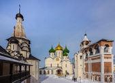 Russia, Suzdal, Churches at Holy Euthymius monastery — Stock Photo
