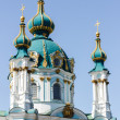 Ukraine, Kiev, Saint Andrew's Church — Stock Photo