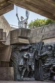 "Ukraine, Kiev, Monument ""Motherland"" — Foto Stock"
