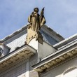 Ukraine, Chernovtsi, Roof statue — Stock Photo