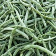 Green beans as background — Stock Photo #16940935