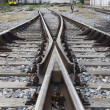 Train rails — Stock Photo #16944399