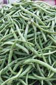 Green beans as background — Stock Photo
