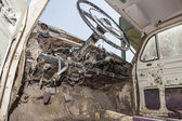 Old car abandoned — Stock Photo